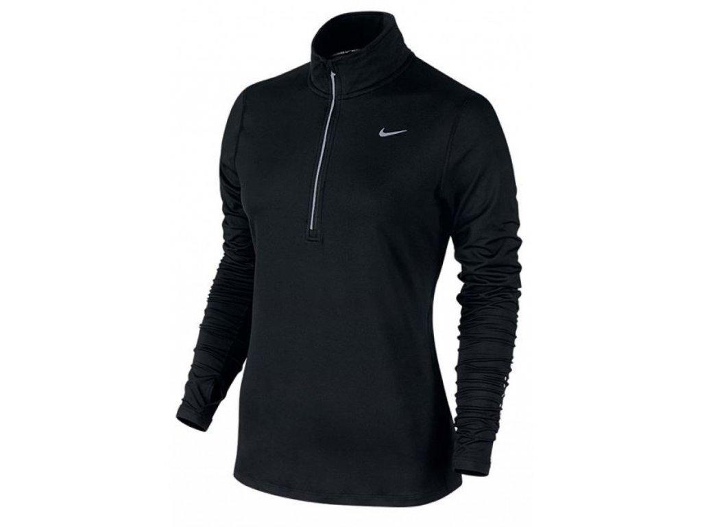 Triko bežecké Nike Element 1/2 Zip