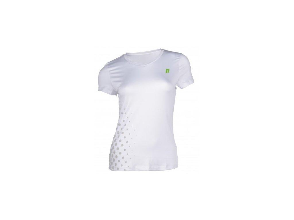 Triko tenisové PRINCE V-NECK TEE