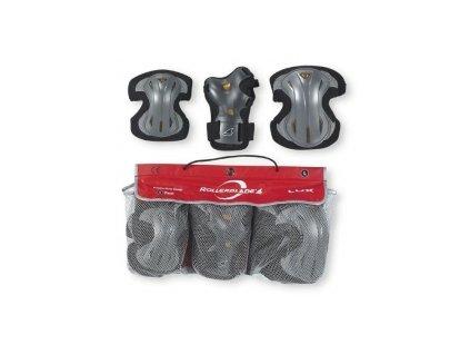 Chrániče na brusle Rollerblade Lux 3 Pack