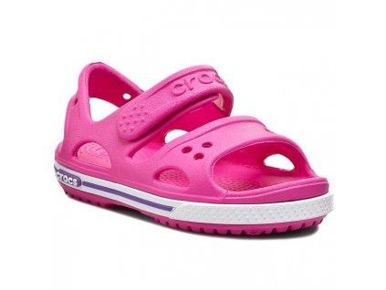 Dětské Crocs Crocband II Sandal PS neon magneta/neon purple (Velikost C10)