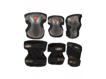 Chrániče Rollerblade Lux 3 Pack, grey (Velikost S)