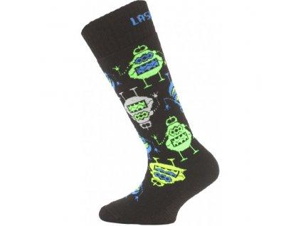 Ponožky Lasting merino SJE (Velikost S)