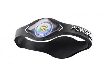 Power Balance Silikon, black/white (Velikost XS-16cm)