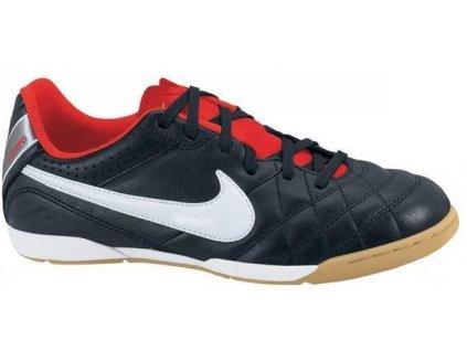 Sálové kopačky Nike Tiempo Natural 4 LTR IC Jr (Velikost EU 32)