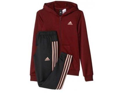 Souprava  sportovní Adidas Hood Pes Ts (Velikost 140)