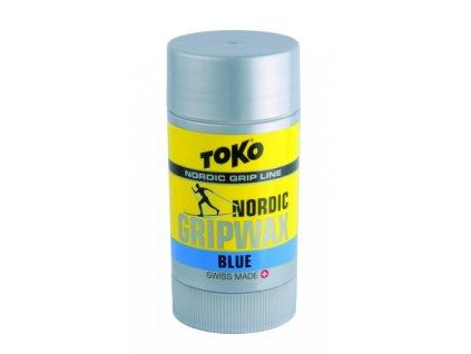 Vosk běžkový TOKO Nordic GripWax, blue