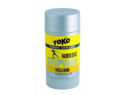 Vosk běžkový TOKO Nordic GripWax, yellow