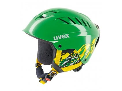 Helma Uvex X-Ride Junior Motion, green/yellow
