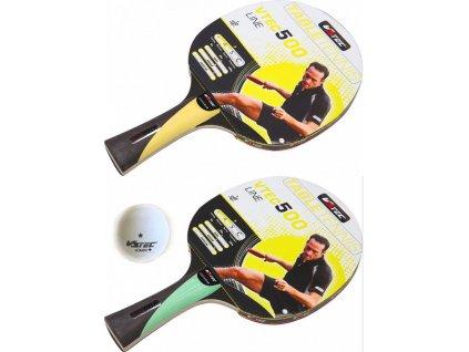 Raketa stolní tenis V3TEC Vtec 500, yellow