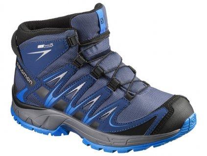 Trekové boty Salomon XA Pro 3D Mid CSWP J 390296