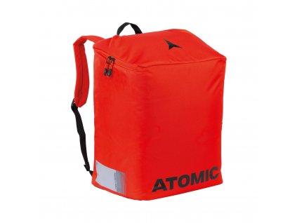 Atomic Boot + Helmet Back, red