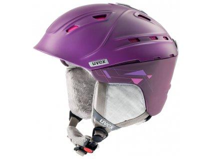 Helma Uvex P2us WL, purple/pink matt
