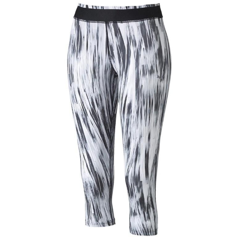 Kalhoty 3/4 fitness PUMA GRAPHIC Velikost: 34