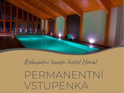 Permanentka na bazén Rožnov