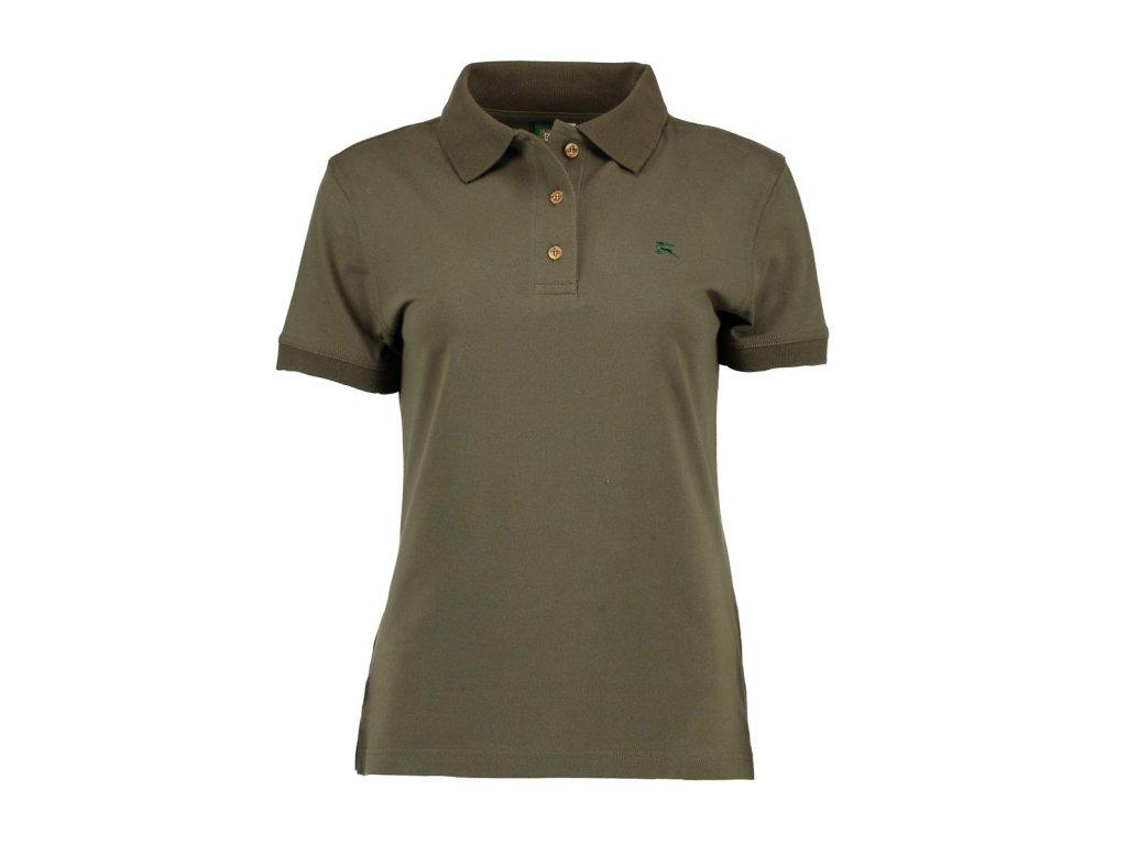 Dámské lovecké tričko s límečkem