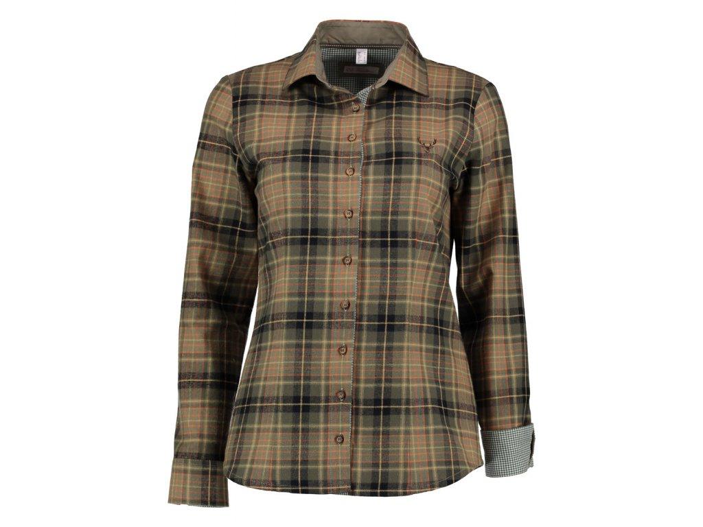 Flanelová košile dámská