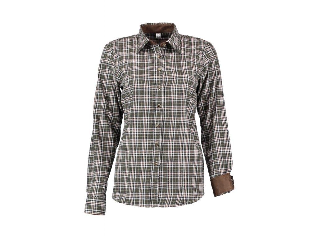 Dámská lovecká košile flanel
