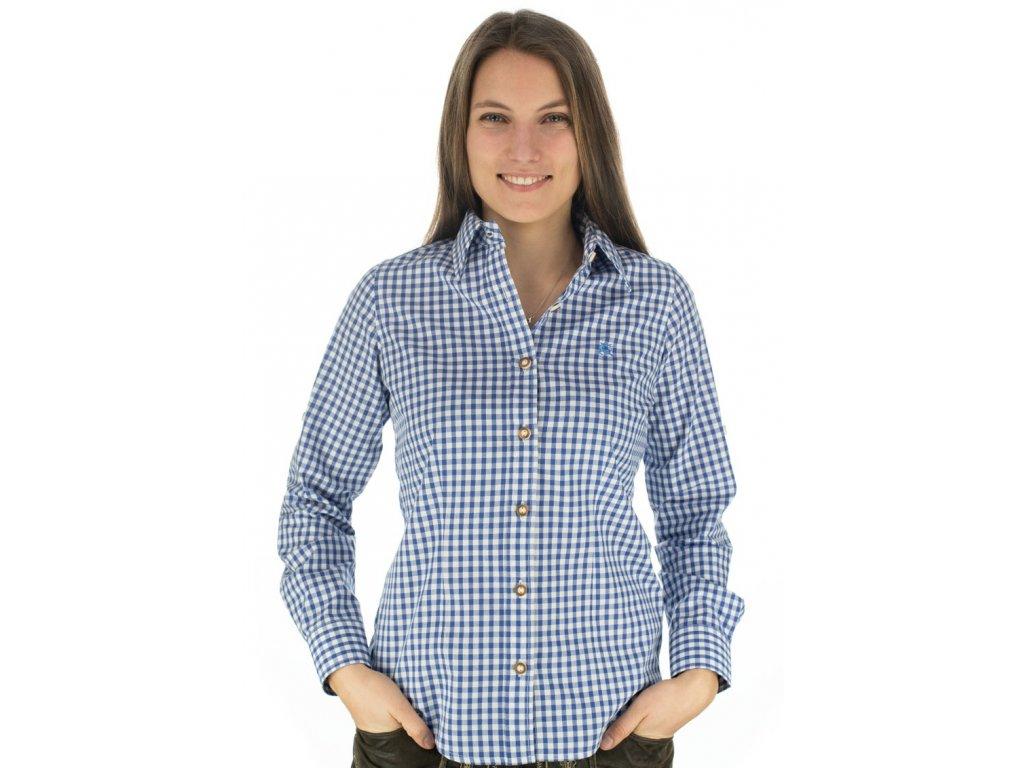 Dámská košile horalská modrá
