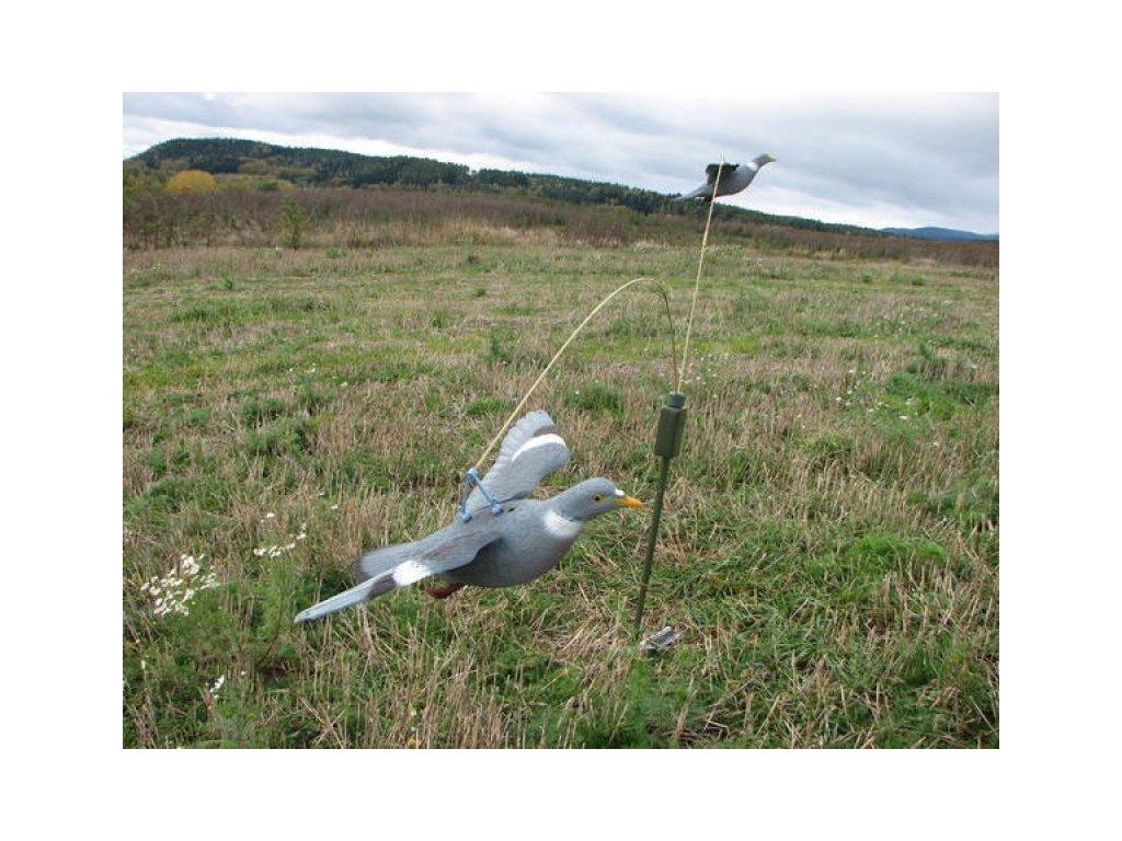 Kolotoč na holuby hřivnáče