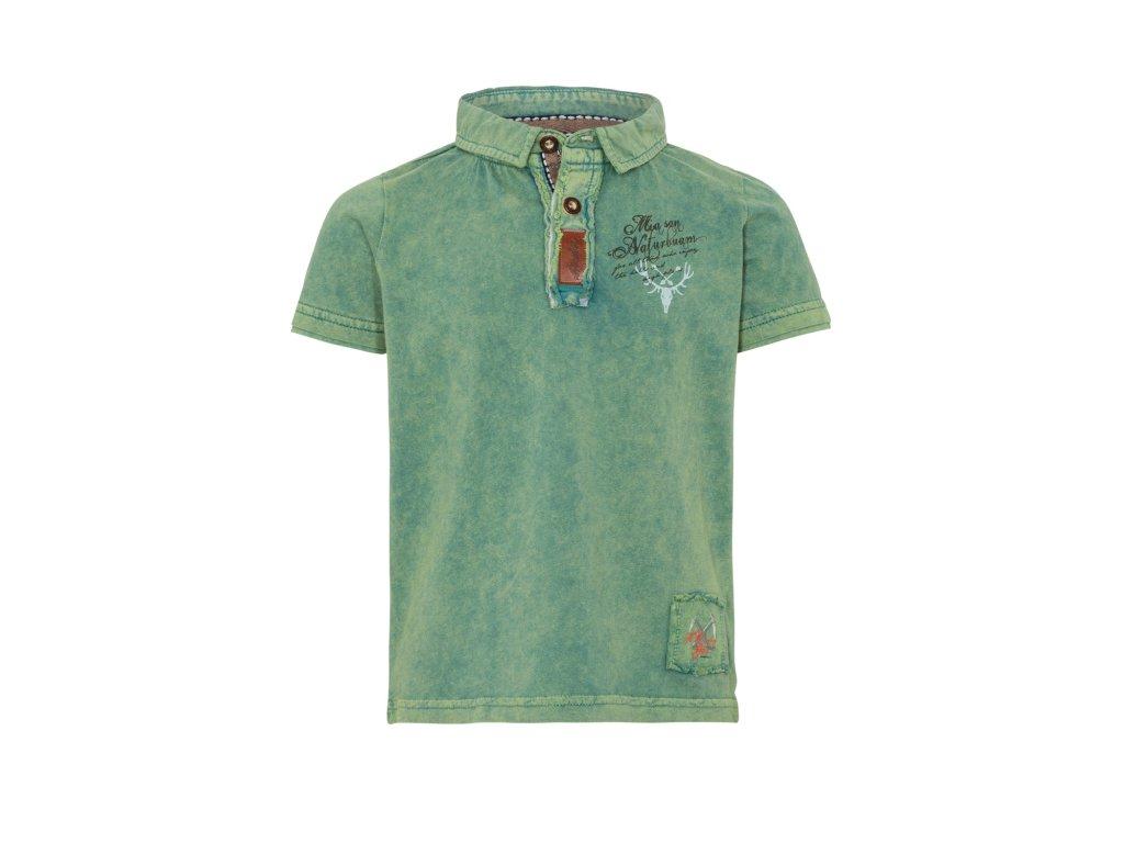 Dětské tričko Jelen s límečkem