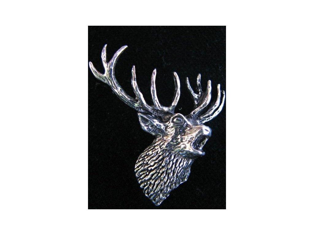 Lovecký odznak Jelen v říji