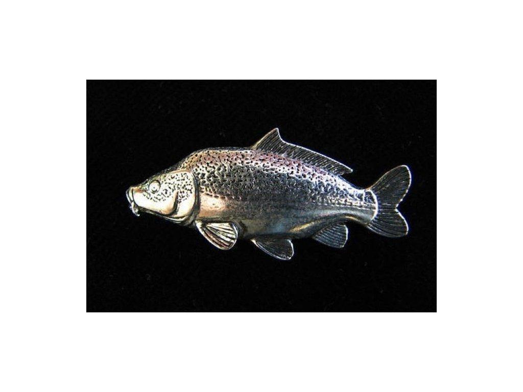 Rybářský odznak Kapr lysec