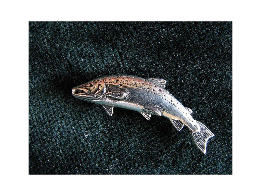 Rybářský odznak Pstruh obecný