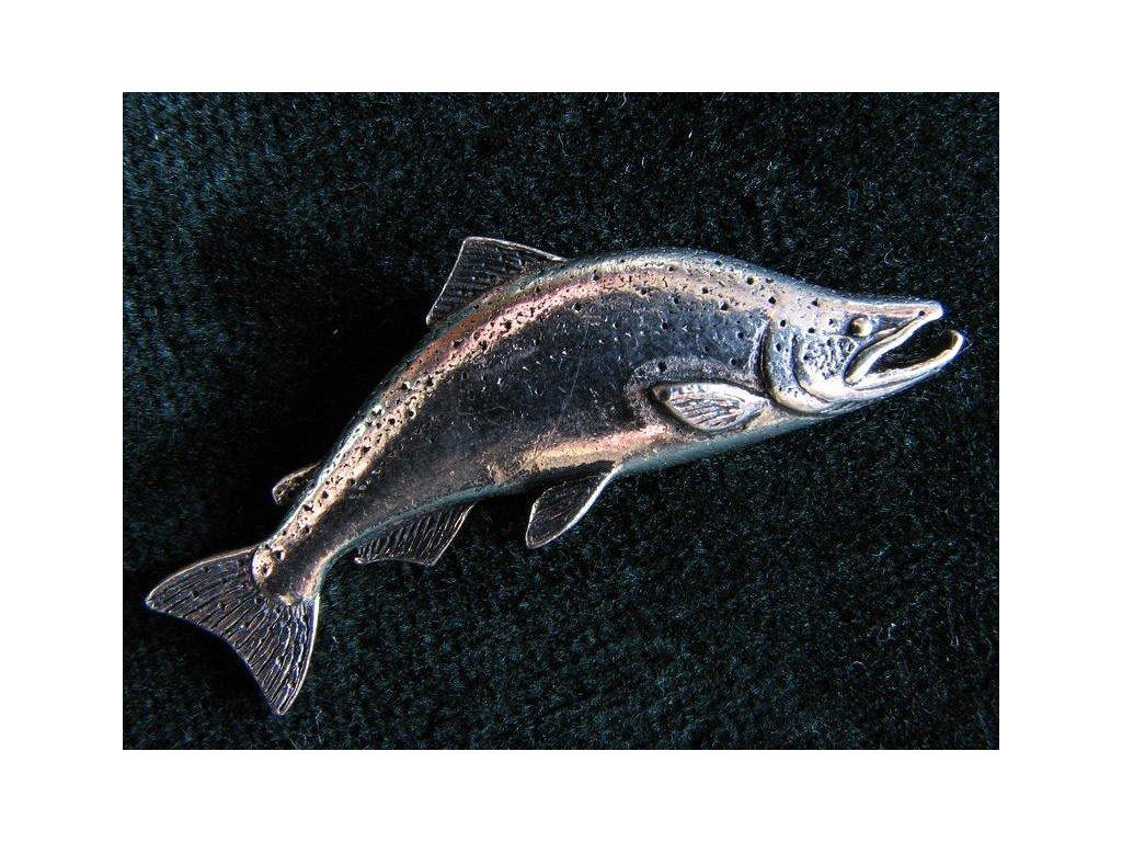 Rybářský odznak  Losos čavyča