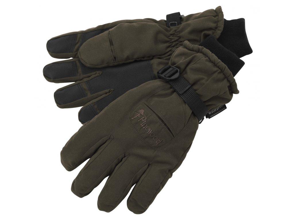 9410 glove membran suede brown