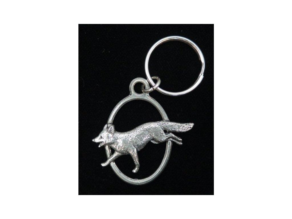 Přívěšek na klíče Liška