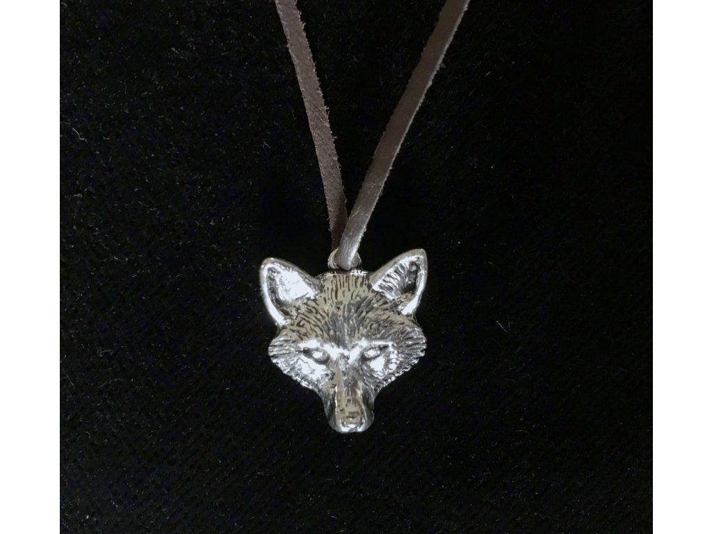 hlava lišky