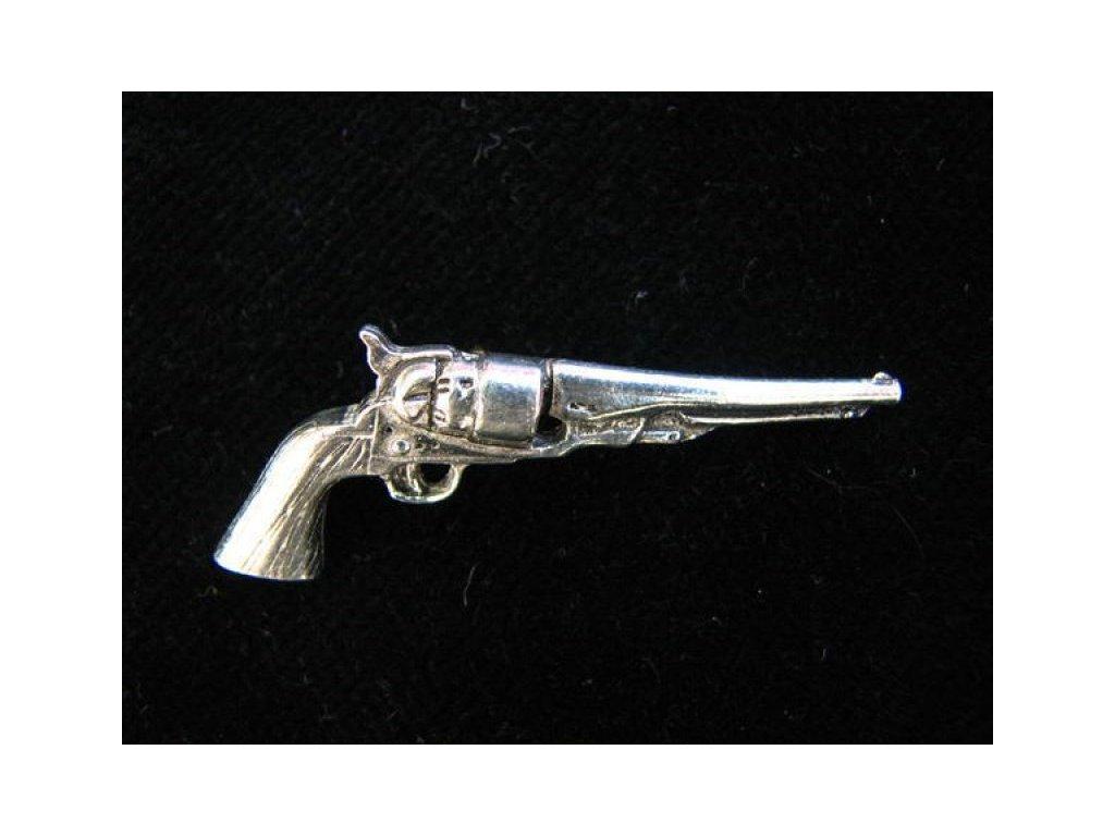 Odznak Revolver Smith Wesson