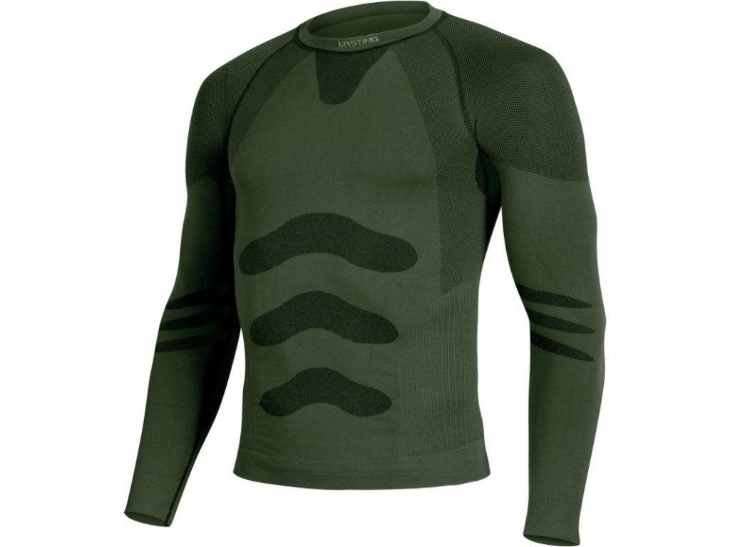 lasting panske funkcni triko apol zelene