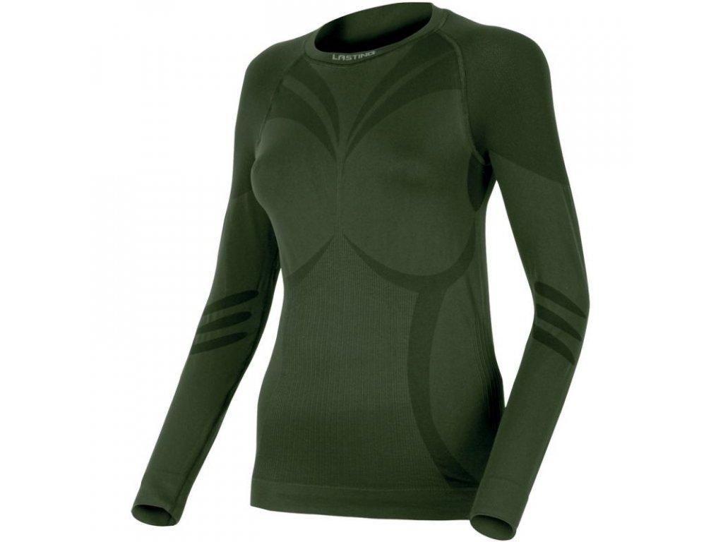 lasting damske funkcni triko atala zelene