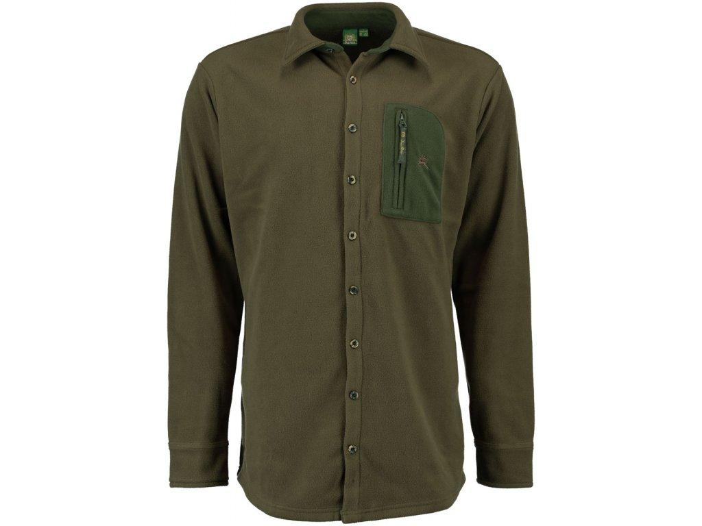 Košile lovecká fleece