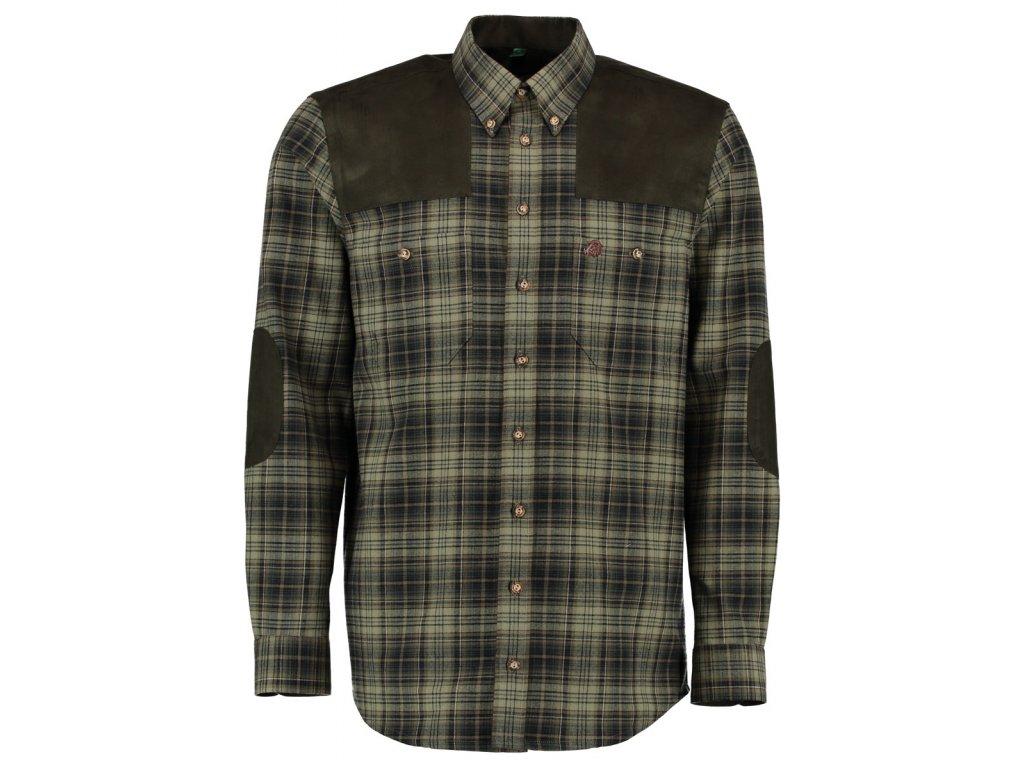 Lovecká flanelová košile