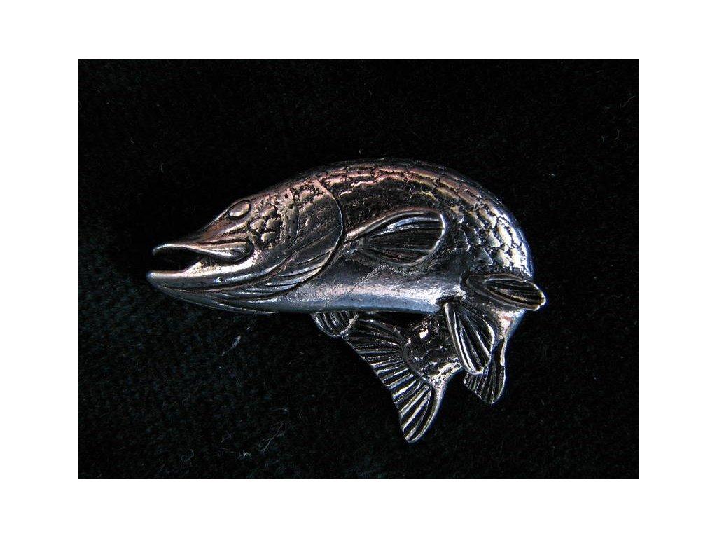 Rybářský odznak Štika loví