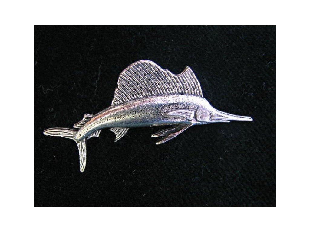 Odznak Plachetník - mořský rybolov