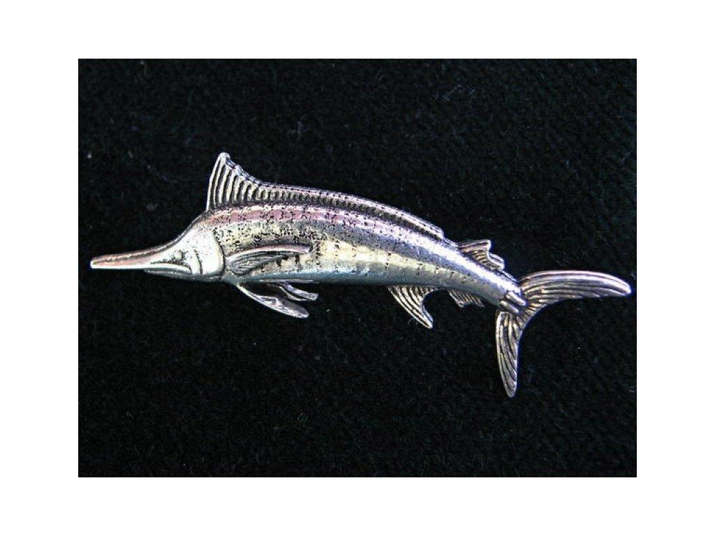 Odznak Marlín modrý - mořský rybolov