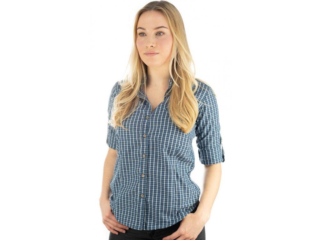 Funkční dámská košile modrá