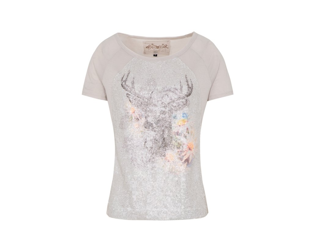 Dámské tričko s loveckým motivem