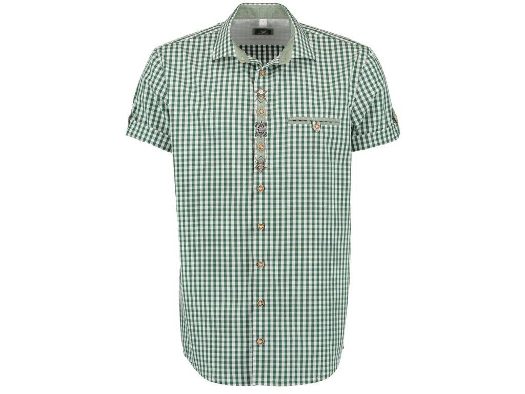 Horalská košile olivová