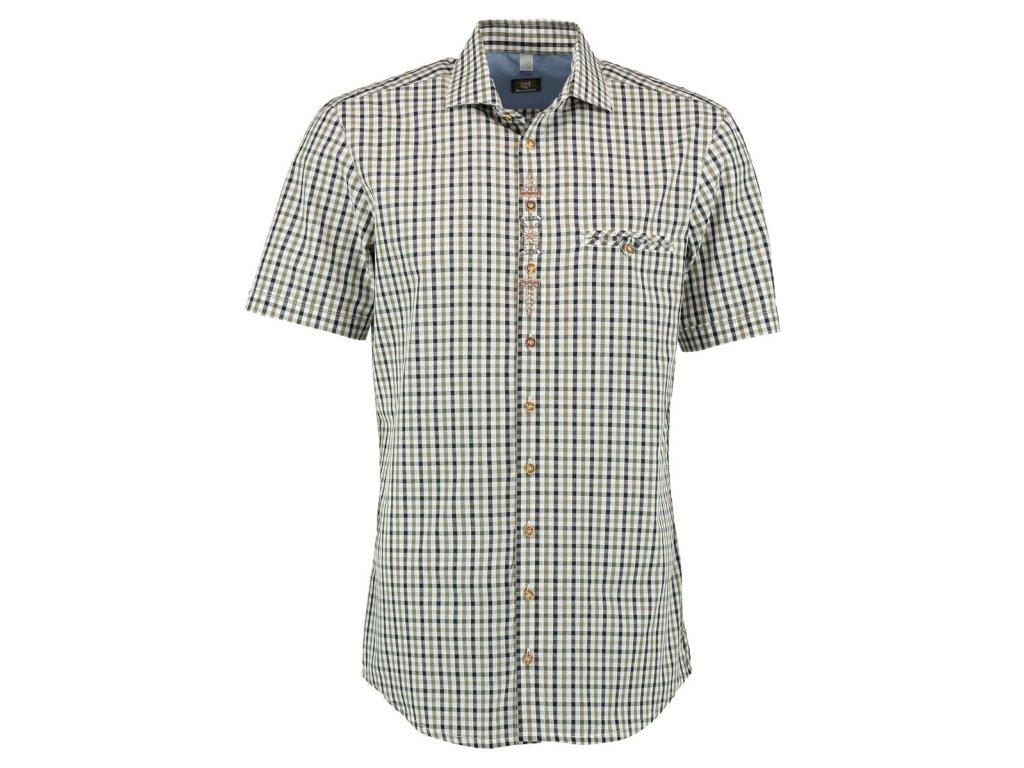Horalská košile krátký rukáv