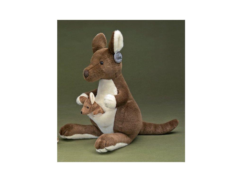 Plyšová hračka klokan