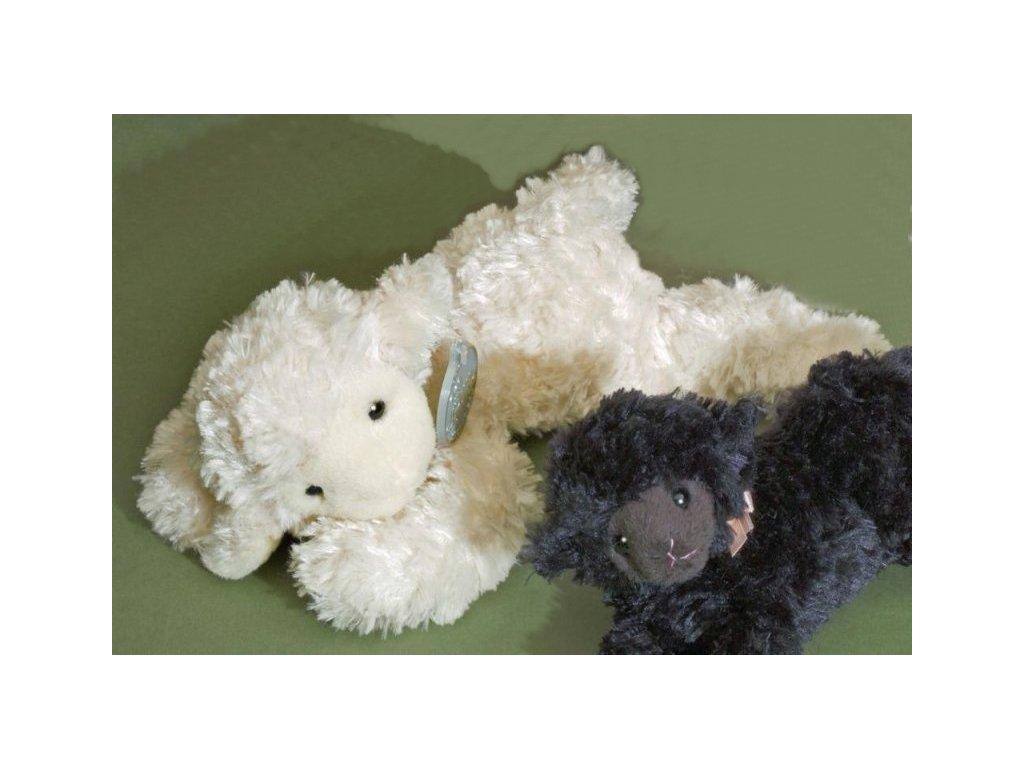 Plyšová ovečka bílá