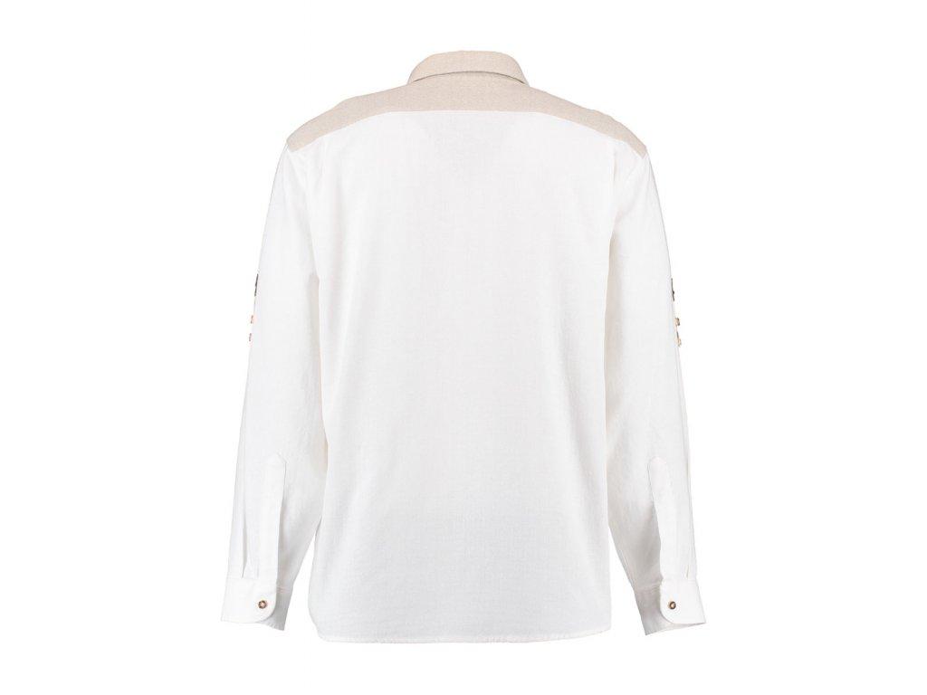 Košile bílá dvě kapsičky
