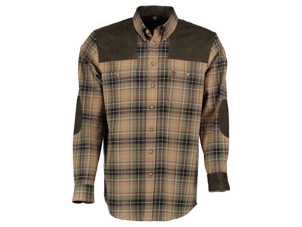 Lovecká košile flanelová Divočák
