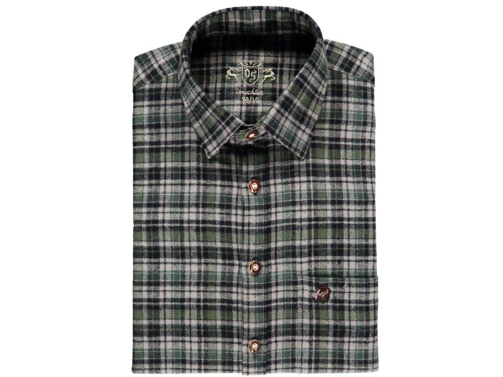 Myslivecká flanelová košile