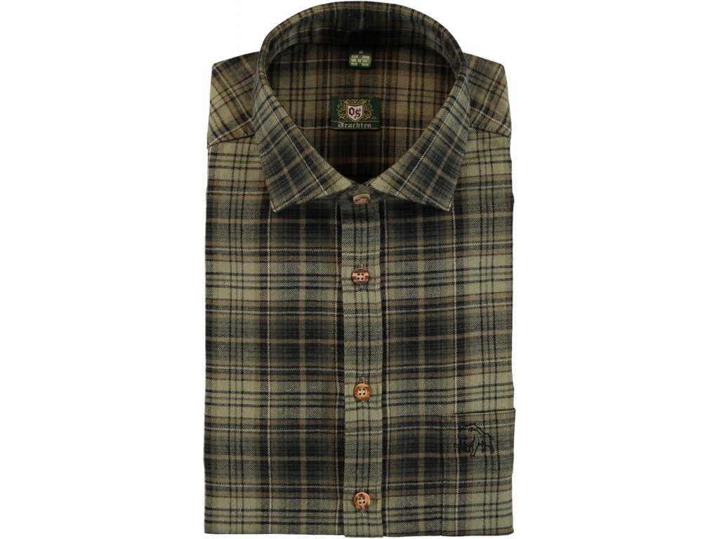Košile flanelová Divočák