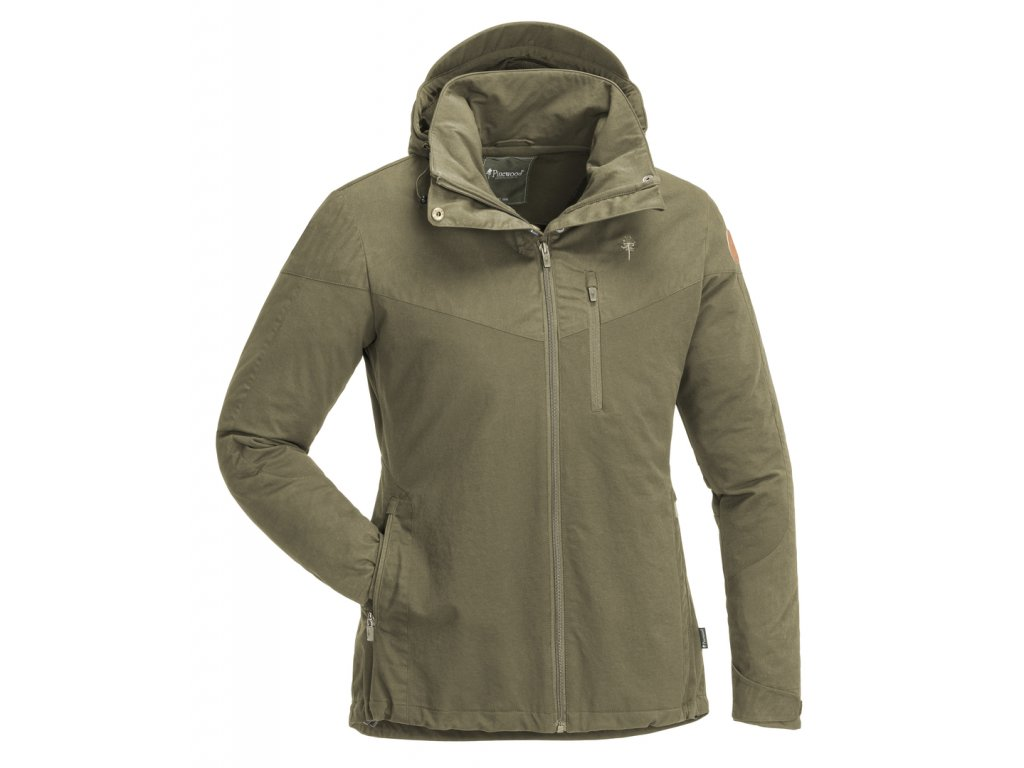 3303 713 01 pinewood womens jacket finnveden hybrid hunting olive